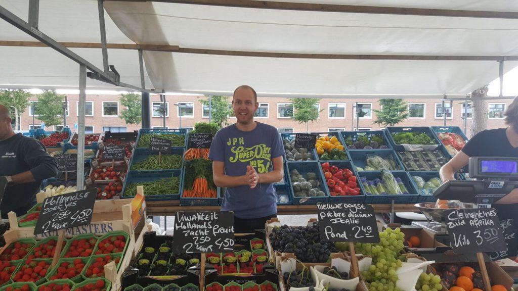 Niels de groenteman!
