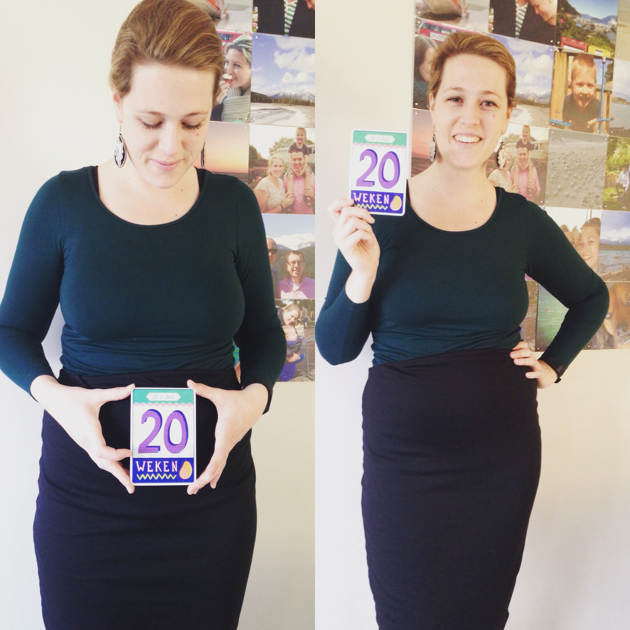 Jennifit 20 weken zwanger