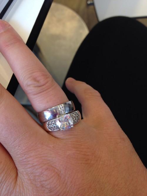 27 juni 2014: Mijn ringen worden te groot