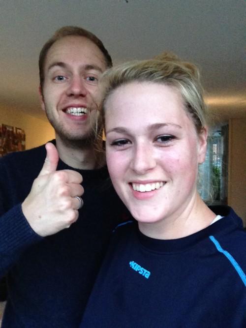 30 augustus 2014: Hardlopen samen met Niels, dat gebeurde dus nooit. Dat wij samen zouden sporten, wie had dat gedacht? En nu, doen we niet anders :-)