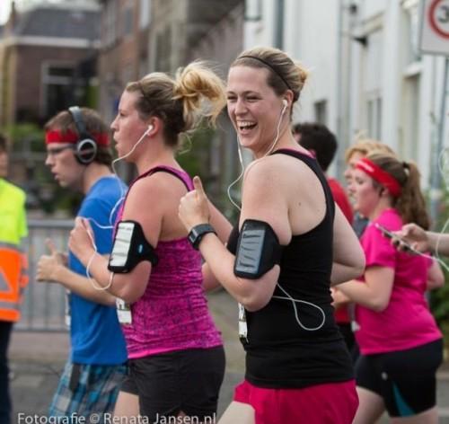 26 juni 2015: hardloopwedstrijd in Haarlem samen met Michelle