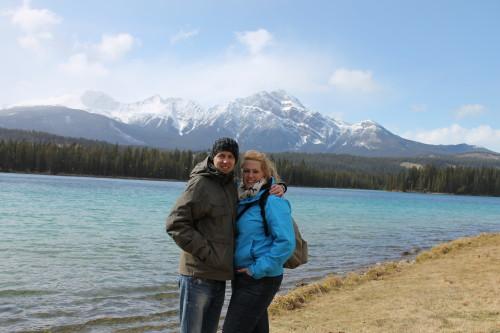 april 2013: vakantie in Canada,. Toen woog ik ongeveer 115 kilo