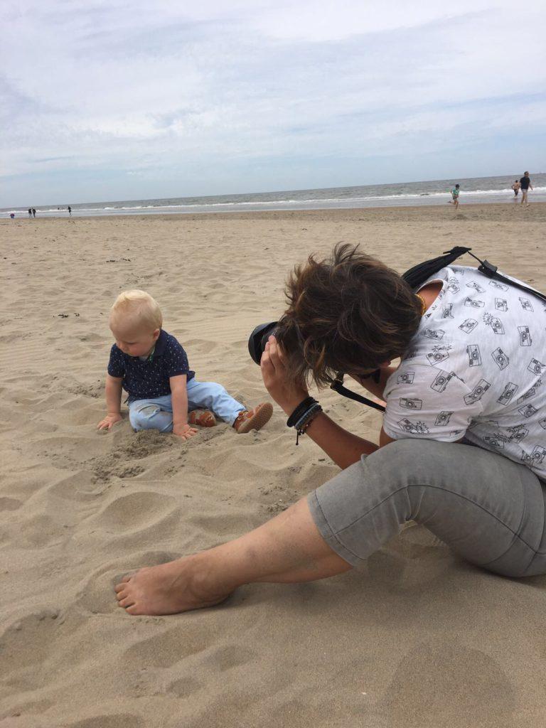 Fotoshoot strand