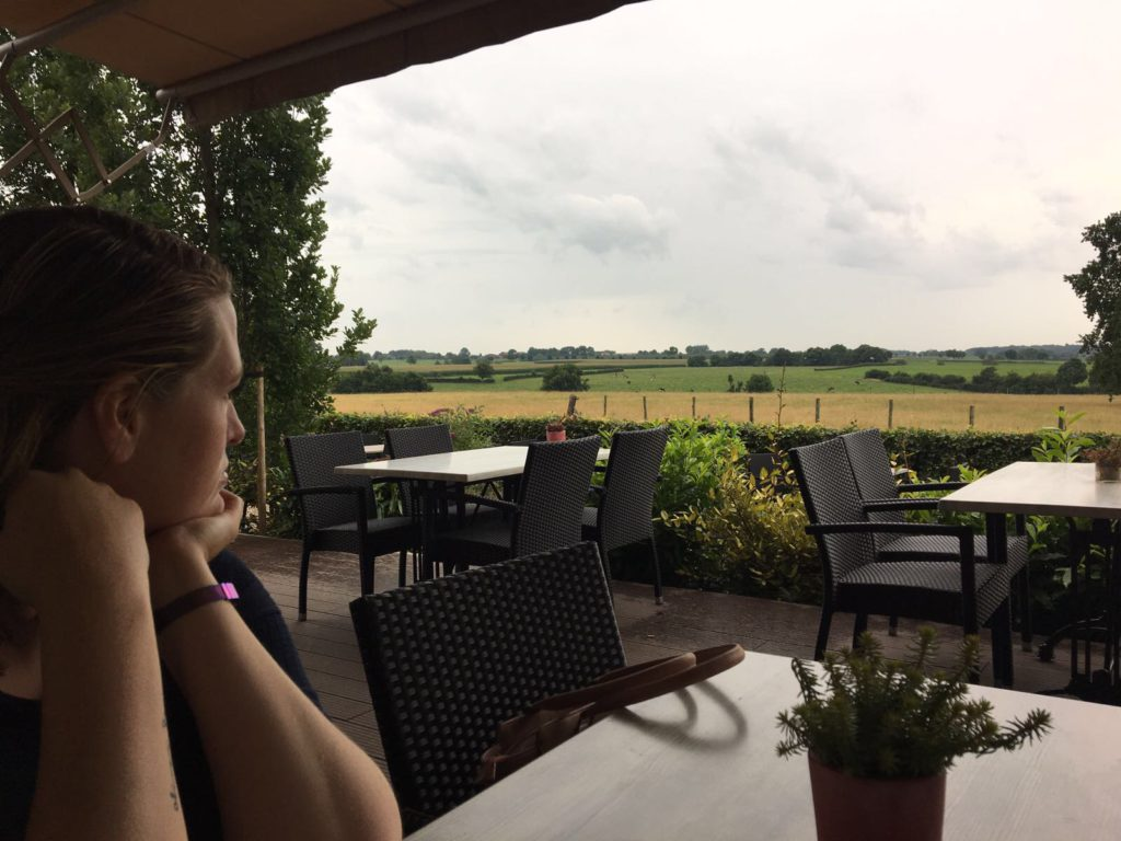 Diner with a view