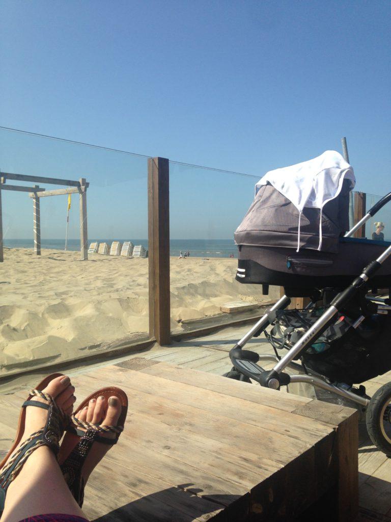 Woensdag was het een prachtige dag. Bij het opstaan spraken we allebei uit dat we naar het strand wilden, dat is toevallig!