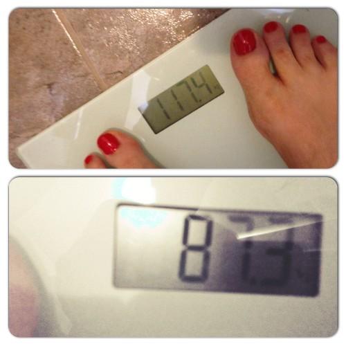 19 maart 2015: in totaal 30 kilo kwijt
