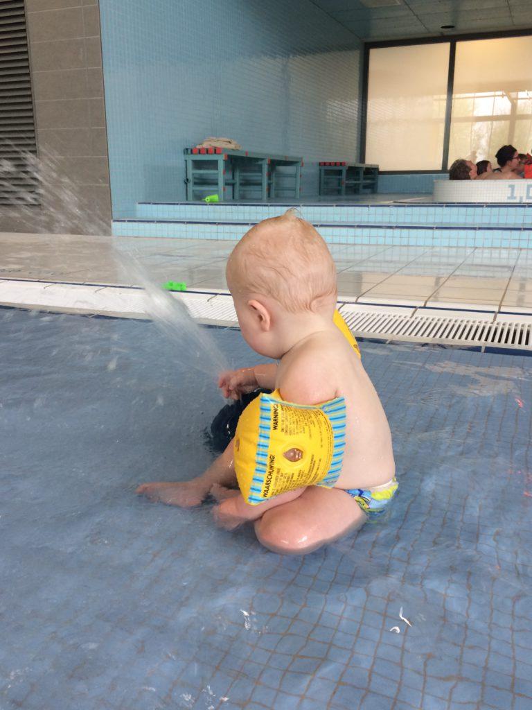 Zwemmen met Oliver