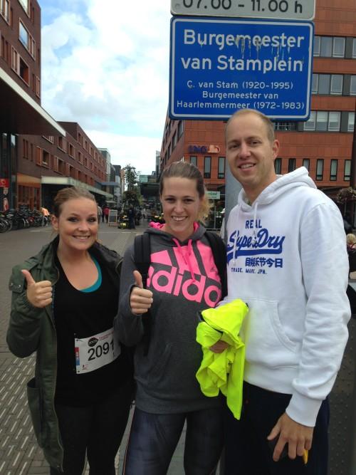 Chantal, Niels en ik zijn er klaar voor!